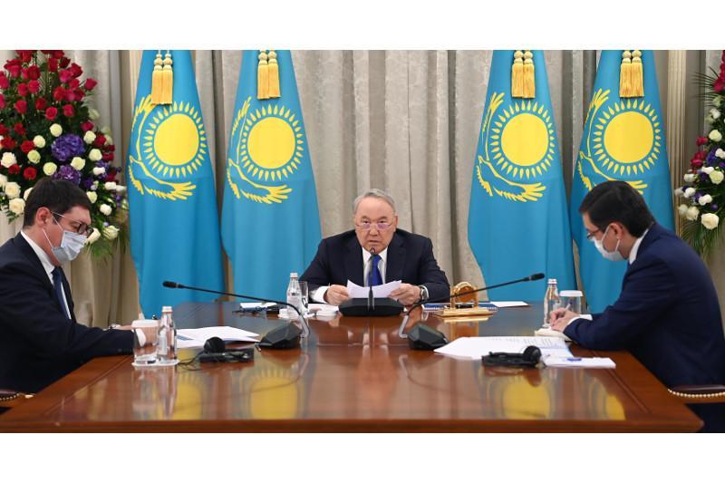 Елбасы провел заседание Совета по управлению ФНБ «Самрук-Қазына»