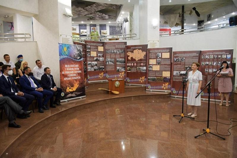 Казахстанских воинов-освободителей вспоминали в Харьковской области