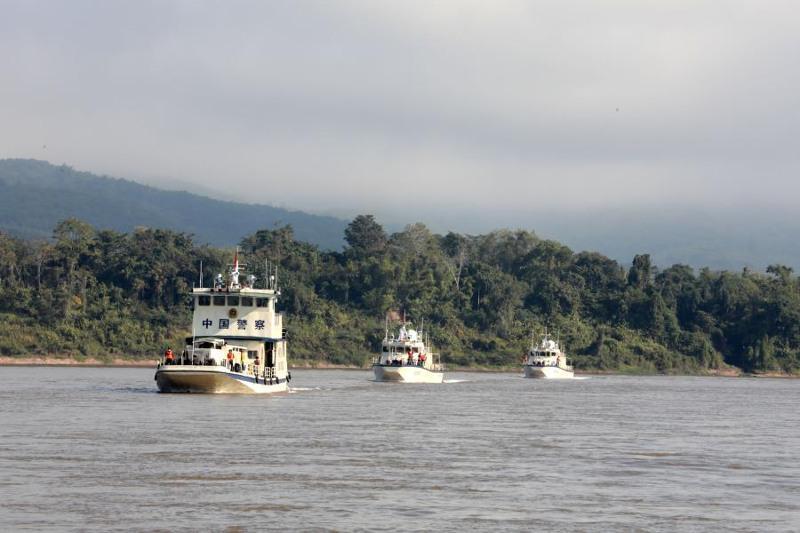 Қытай, Лаос, Мьянма және Таиланд бірлесіп Меконг өзенін патрульдеуді бастады