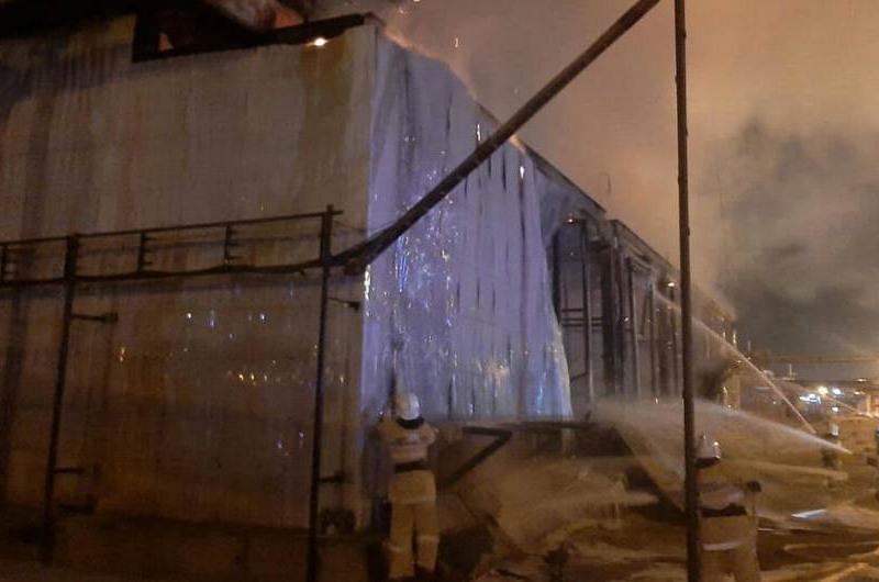 Последствия пожара на КазГПЗ ликвидированы – КазМунайГаз