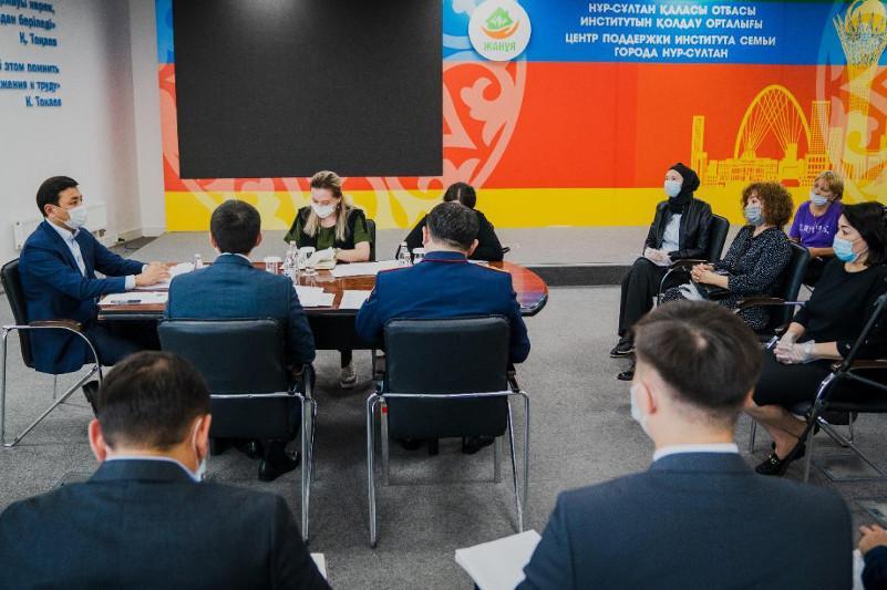 Nur-Sultanda «saqaldy» qurylystarǵa tekserý júrgizildi
