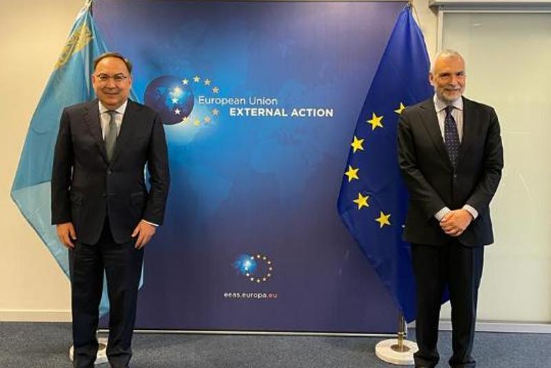 Special Representative of Kazakhstani President holds bilateral meetings in Brussels