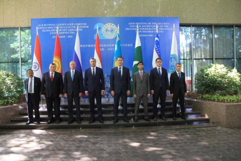 伊谢克舍夫出席上合组织成员国安全会议秘书第16次会议