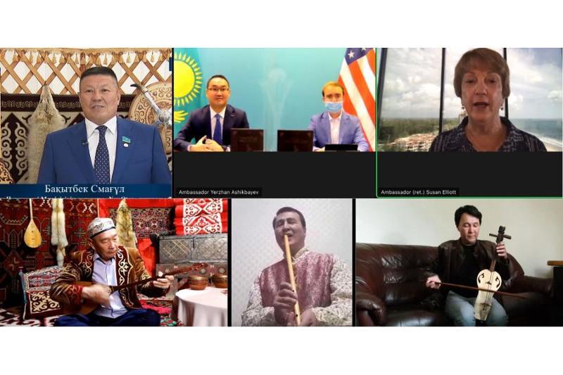 Anthology of Kazakh Kuy project unveiled in U.S.