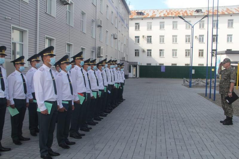 Офицеры Нацгвардии прибыли служить в Павлодарскую область