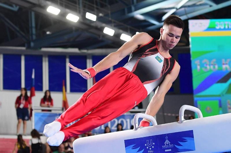 Казахстанские гимнасты вышли в финал этапа Кубка мира в Дохе