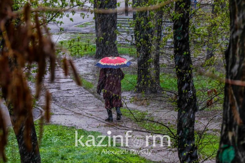 Дожди с грозами ожидаются в Казахстане 24 июня