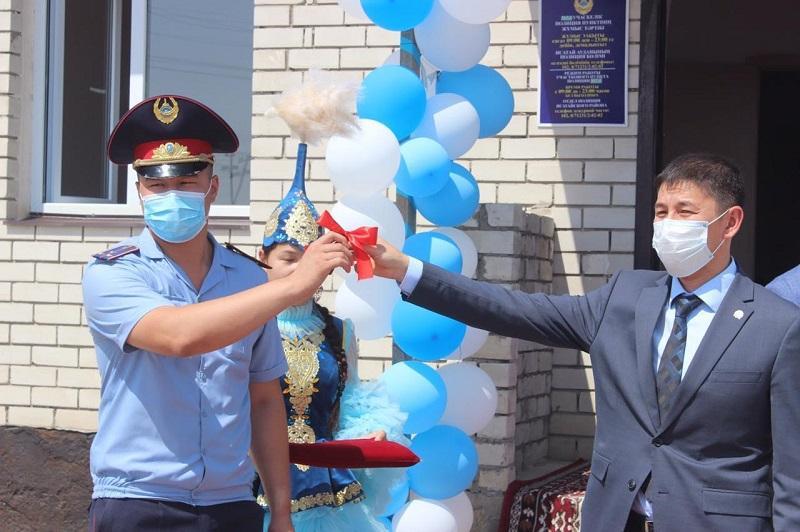 Атырау облысында жаңа үлгідегі екі учаскелік полиция бекеті ашылды