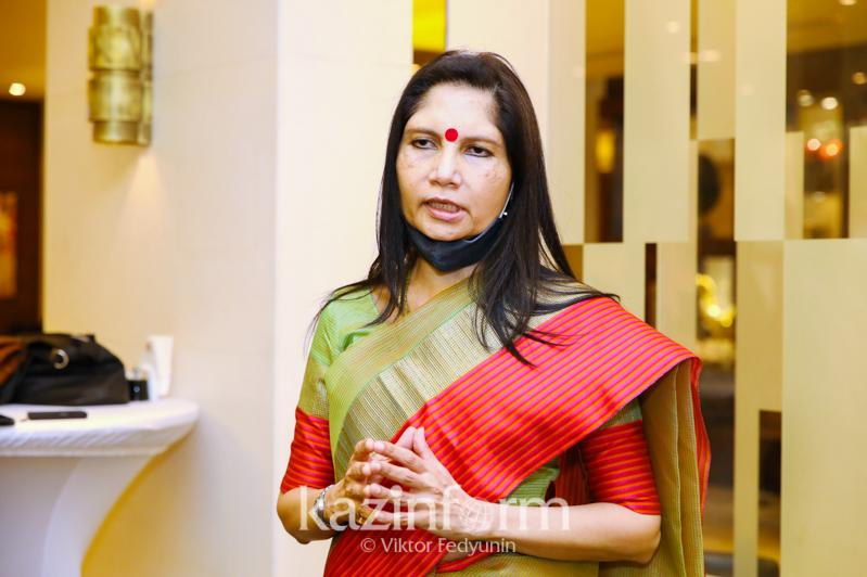 Newly appointed Ambassador of India meets with journalists in Nur-Sultan