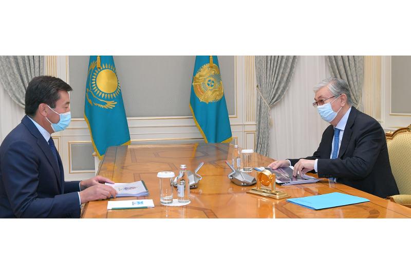 ҚР Президенті «Lancaster Group Kazakhstan» холдингі директорлар кеңесінің төрағасын қабылдады