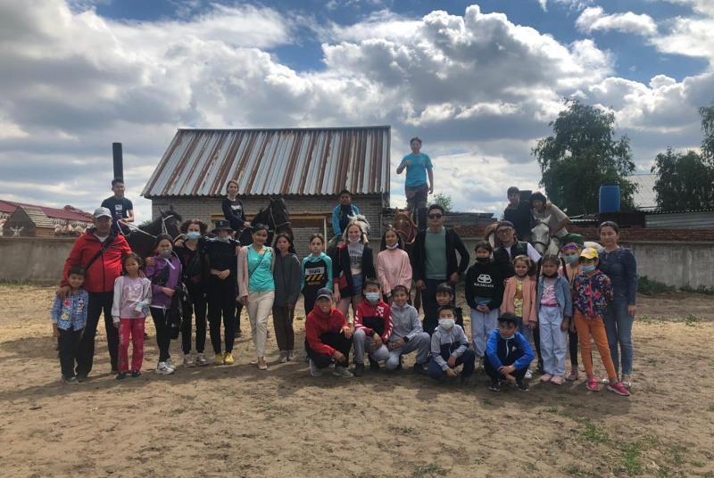 В рамках «Рухани Жаңғыру» для костанайских школьников запущен проект «Жайлау»