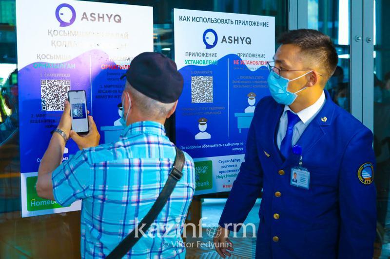 Ashyq: Almaty temirjol vokzaldarynda 3 adamnan «qyzyl» mártebe anyqtaldy