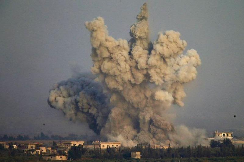ВВС США нанесли авиаудары по группировкам возле сирийско-иракской границы