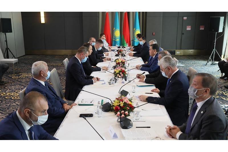Қазақстан мен Беларусь Премьер-Министрлері ынтымақтастық мәселелерін талқылады