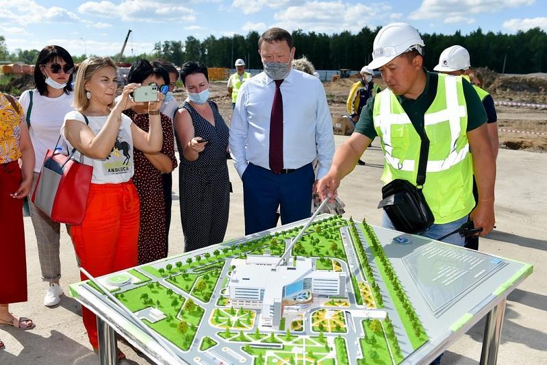 Какие объекты строятся  в Петропавловске – рассказал аким СКО