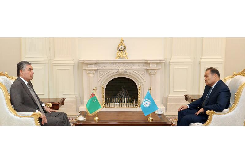Түрікменстан Президенті Түркі кеңесінің Бас хатшысын қабылдады