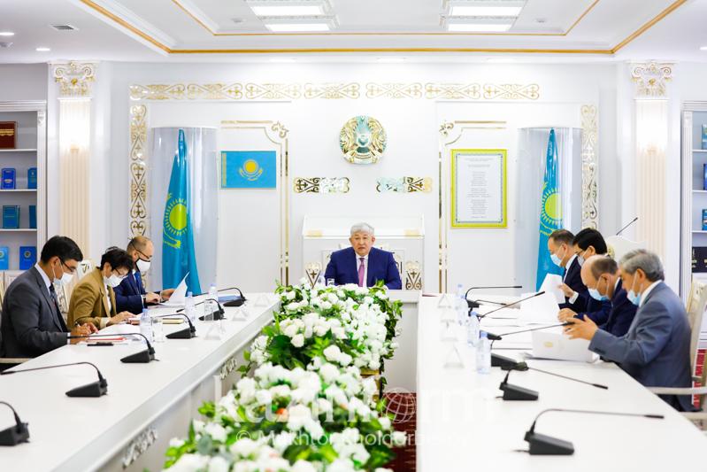 Состоялось заседание Комиссии по присуждению Госпремии РК в области науки и техники
