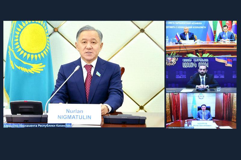 Нурлан Нигматулин принял участие в работе Парламентской Ассамблеи ОДКБ