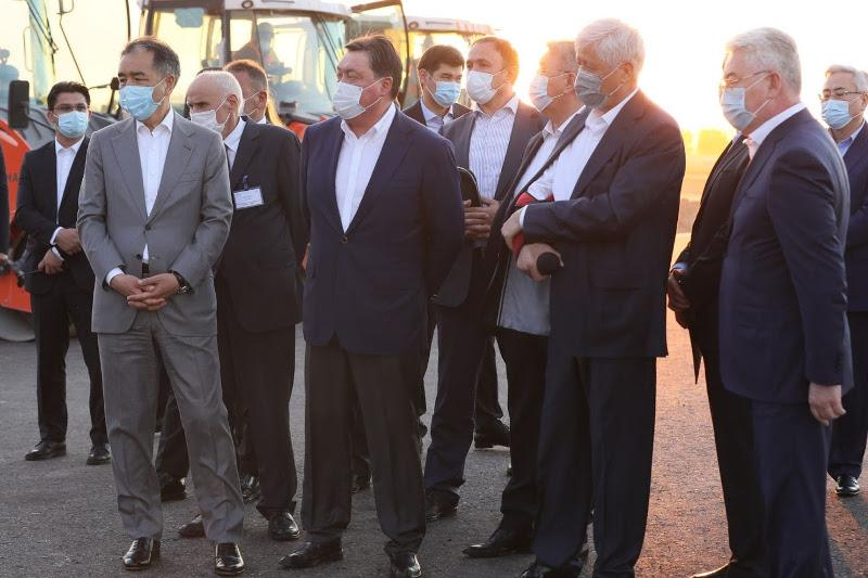 马明指示在2022年底前完成大阿拉木图外环公路项目