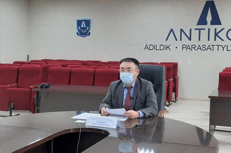 Ақмола облысында ХҚКО жұмысындағы жемқорлық мәселелері талқыланды