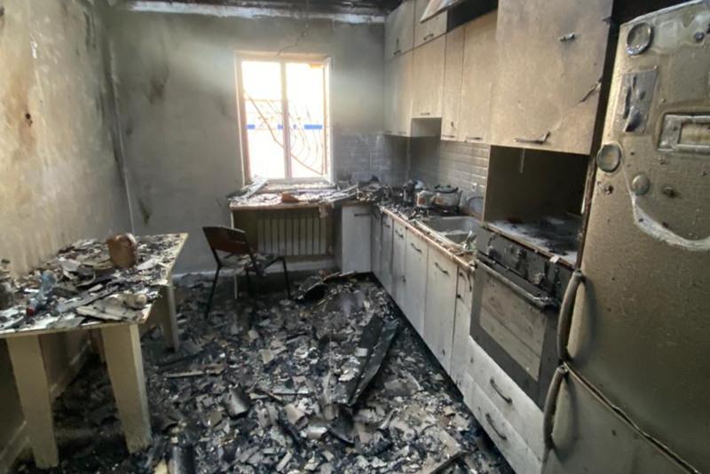 Атырауда тұрғын үйде газ жарылып, бір адам мерт болды