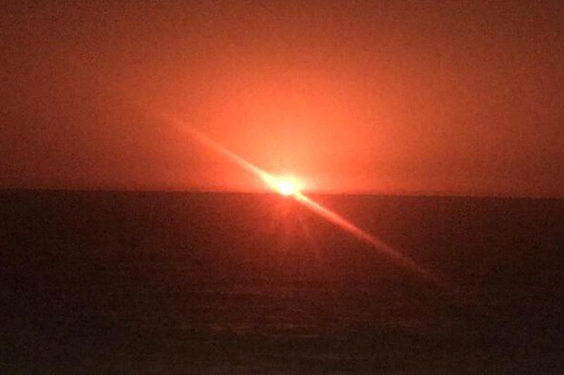 里海海域发生爆炸 或为海底火山爆发