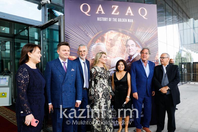 QAZAQ: History of the Golden Man documentary premieres in Kazakhstan