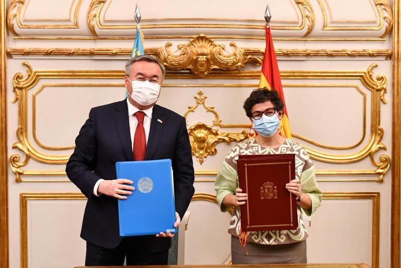 Состоялся официальный визит Министра иностранных дел Казахстана в Испанию