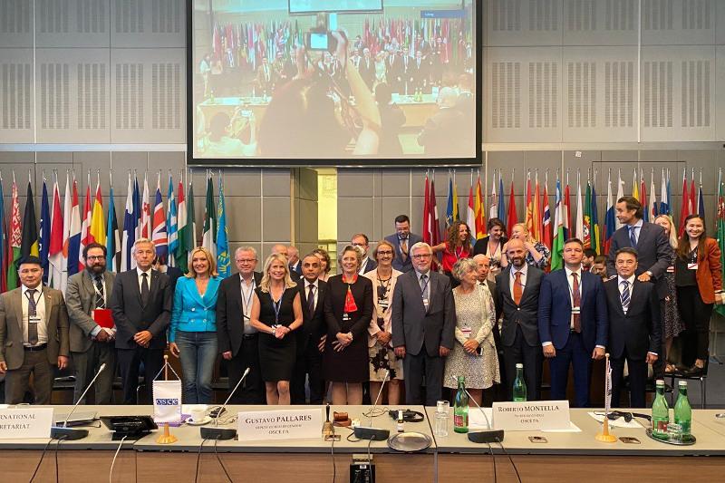 Сенатор Аскар Шакиров избран зампредом Парламентской Ассамблеи ОБСЕ