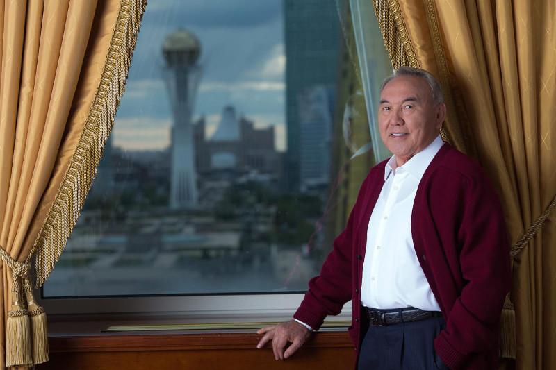 Nursultan Nazarbayev receives birthday greetings from Turkmen President
