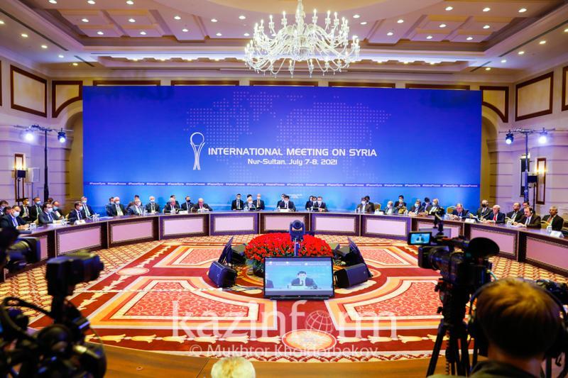 Совместное заявление озвучили на Астанинском процессе по Сирийским переговорам