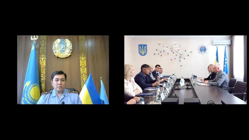 Вузы по подготовке сотрудников правоохранительных органов Казахстана и Украины договорились о сотрудничестве