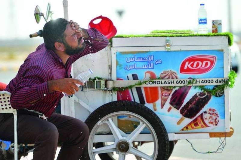 Кувейтте аптап ыстық: ауа температурасы 70 градусқа көтерілді
