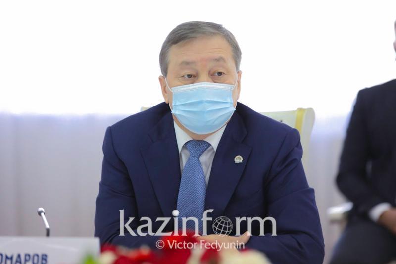 Prezıdent: Aýyl sharýashylyǵy mınıstri Saparhan Omarov otstavkaǵa ketýi tıis