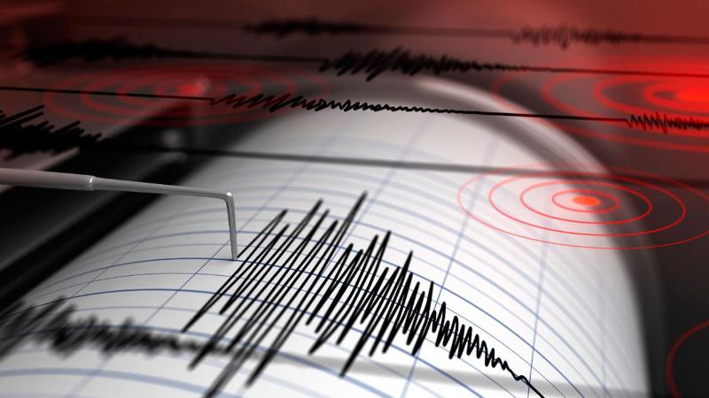 Землетрясение произошло в 750 км на юго-запад от Алматы