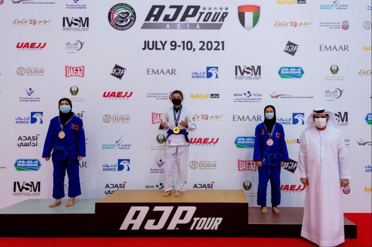 Елордалық спортшылар Дубайдағыхалықаралық турнирде11алтын медаль еншіледі