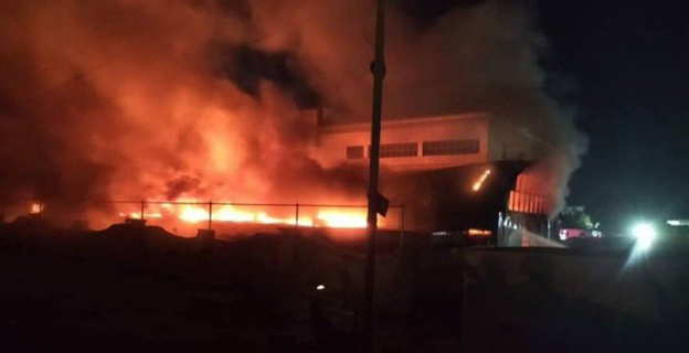 Крупный пожар в ковидном госпитале в Ираке унес полсотни жизней