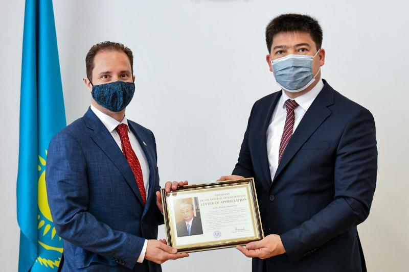 Canadian Ambassador to Kazakhstan completes his diplomatic mission