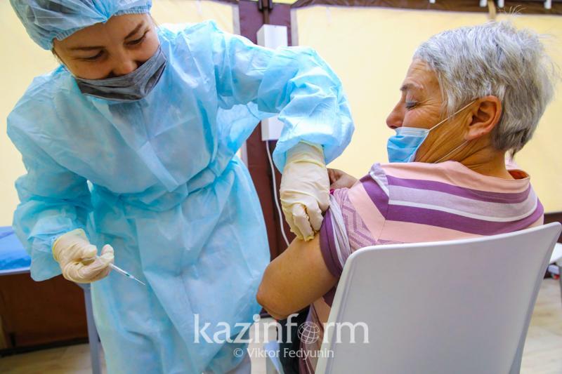 21% акмолинцев получили оба компонента вакцины против коронавируса