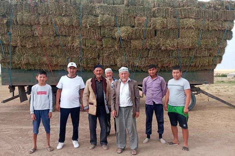 Túrkistan oblysynda eki aýdan qýańshylyqtyń zardabyn tartyp otyrǵan batysqa shóp jiberdi