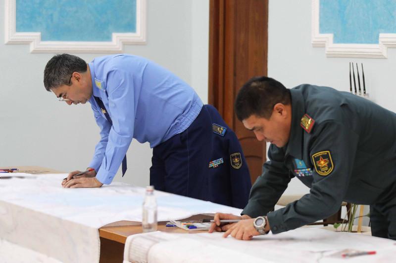 Казахстанские военные топографы приняли участие в учениях «Горизонт-2021»