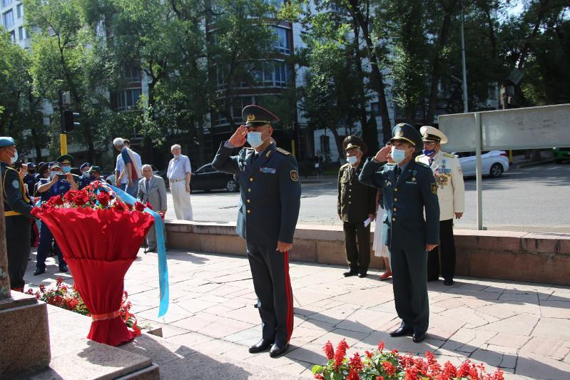 Мероприятие в память о воинах Панфиловской дивизии состоялось в Алматы