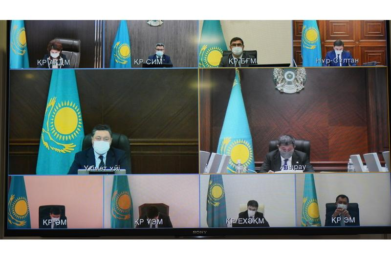 Kazakh PM instructs to put 4 regions of Kazakhstan under tighter COVID curbs