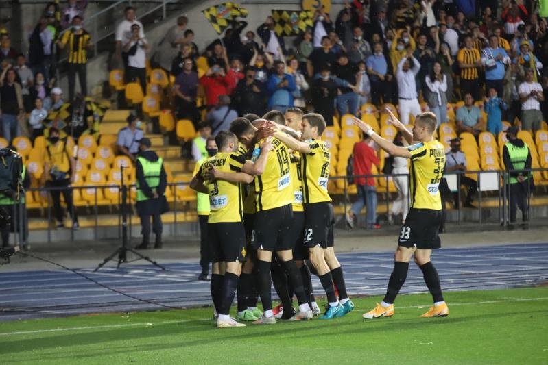 «Кайрат» обыграл «Маккаби» в ответном матче отборочного раунда Лиги чемпионов УЕФА