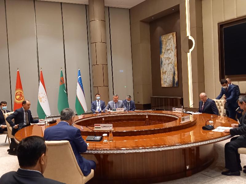 Мухтар Тлеуберди принял участие во встрече руководителей МИД стран Центральной Азии