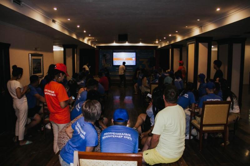 В Капшагае состоялся республиканский слет волонтеров «Asyl jurek»