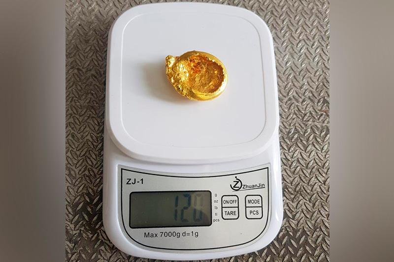 Reseılik shekaradan 120 gramm altyn quımany zańsyz alyp ótpek boldy