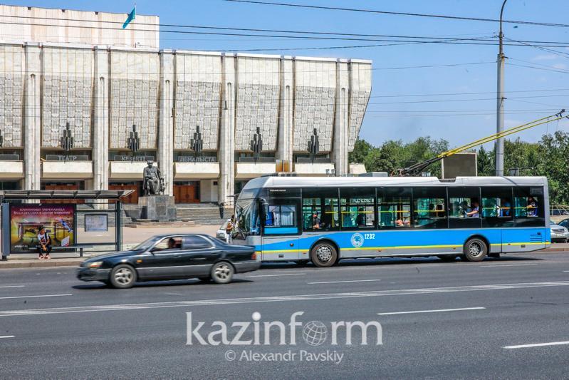 Как будет работать общественный транспорт в выходные в Алматы