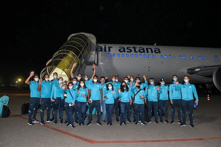 Казахстанские спортсмены-олимпийцы вылетели в Токио