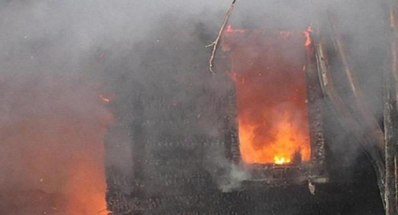 Семья погибла при пожаре в ВКО